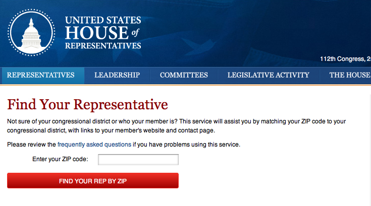 Email your representative