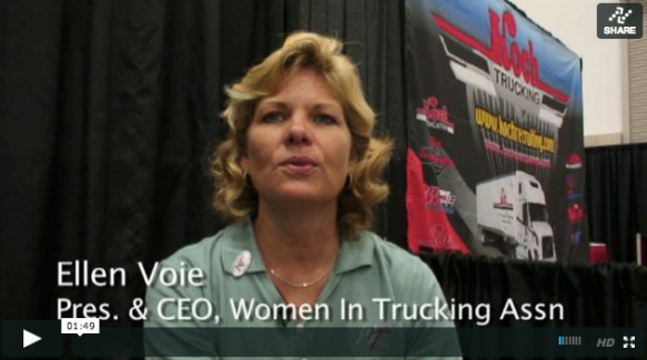 women truckers voie